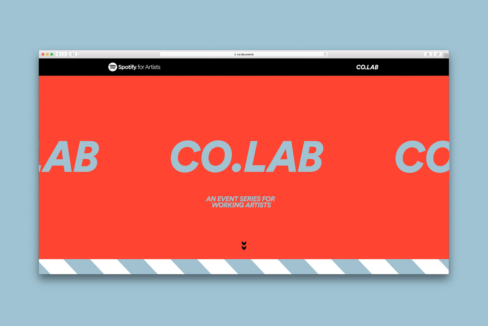 Spotify Co Lab For working musicians to workshop their